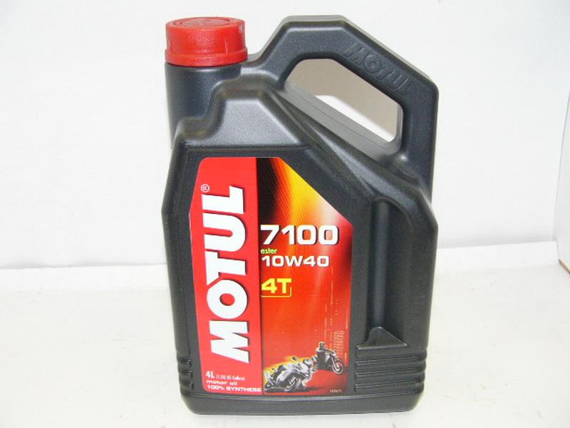 Моторное масло Motul 7100 4T 10W50 1л - фото 3